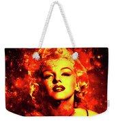 Marilyn Monroe   Golden  Weekender Tote Bag