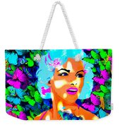 Marilyn Monroe Light And Butterflies Weekender Tote Bag