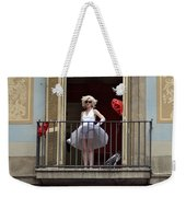 Marilyn Monroe Lookalike Weekender Tote Bag
