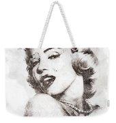 Marilyn Monroe Portrait 01 Weekender Tote Bag