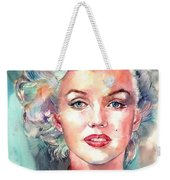Marilyn Monroe Portrait Weekender Tote Bag