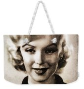 Marilyn Monroe, Vintage Actress Weekender Tote Bag