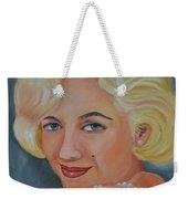 Marilyn Monroe With Pearls Weekender Tote Bag