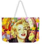 Marilyn Superstar Pop Weekender Tote Bag
