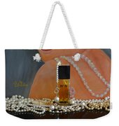 Marilyn With Chanel And Pearls Weekender Tote Bag