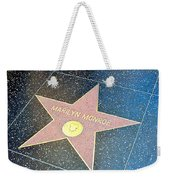 Marilyn's Star Weekender Tote Bag