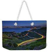 Marin Headlands Weekender Tote Bag