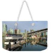Marina At Granville Island In Vancouver Bc Weekender Tote Bag