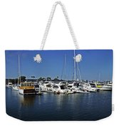 Marina Del Rey California Weekender Tote Bag