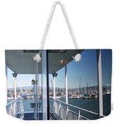 Marina Mirror Weekender Tote Bag