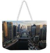 Marina Sunrise Weekender Tote Bag