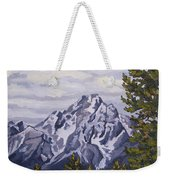 Marina's Edge, Jenny Lake, Grand Tetons Weekender Tote Bag by Erin Fickert-Rowland