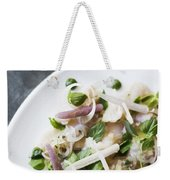 Marinated Tuna Vegetable And Herb Salad Weekender Tote Bag