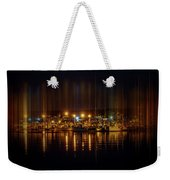 Marine At Night Weekender Tote Bag