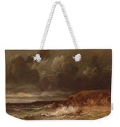 Marine Landscape The Cape And Dunes Of Saint Quentin 1870 Weekender Tote Bag