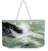 Marine Storm Sea 1911 Weekender Tote Bag