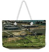 Mariners Point Golf Center In Foster City, California Aerial Photo Weekender Tote Bag