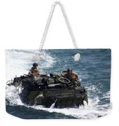 Marines Operate An Amphibious Assault Weekender Tote Bag