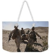Marines Transport A Simulated Downed Weekender Tote Bag