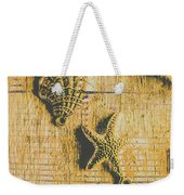 Maritime Sea Scroll Weekender Tote Bag