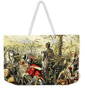 Marius Discovered In The Marshes At Minturn Weekender Tote Bag