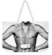 Mark Spitz (1950- ) Weekender Tote Bag
