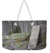 Marker Chained To Tree Weekender Tote Bag