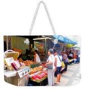 Market At Bensonhurst Brooklyn Ny 1 Weekender Tote Bag