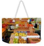Market At Bensonhurst Brooklyn Ny 11 Weekender Tote Bag