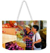 Market At Bensonhurst Brooklyn Ny 2 Weekender Tote Bag