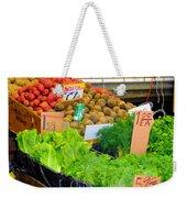 Market At Bensonhurst Brooklyn Ny 5 Weekender Tote Bag
