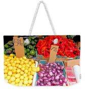 Market At Bensonhurst Brooklyn Ny 6 Weekender Tote Bag