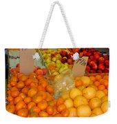 Market At Bensonhurst Brooklyn Ny 7 Weekender Tote Bag