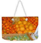Market At Bensonhurst Brooklyn Ny 8 Weekender Tote Bag