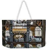 Market Bars And Windows Weekender Tote Bag