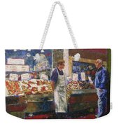 Market Conversation Weekender Tote Bag
