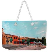 Market Day Weekender Tote Bag by Linda Feinberg
