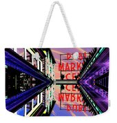 Market Entrance Weekender Tote Bag