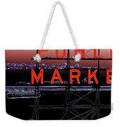 Market Ferry 2 Weekender Tote Bag