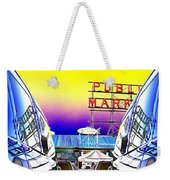 Market Reflect Weekender Tote Bag