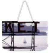 Market Sail Weekender Tote Bag