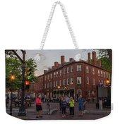 Market Square Weekender Tote Bag