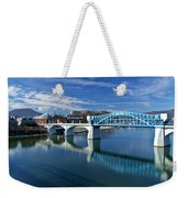 Market Street Bridge  Weekender Tote Bag