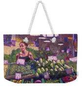 Market Veggie Vendor Weekender Tote Bag