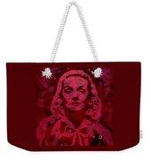 Marlene In Red  Weekender Tote Bag