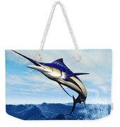 Marlin Jump Weekender Tote Bag by Corey Ford