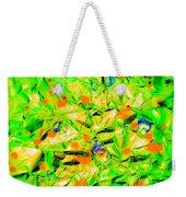 Orange Green Weekender Tote Bag