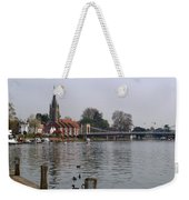 Marlow By The River Thames Weekender Tote Bag