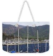 Marmaris Port Weekender Tote Bag