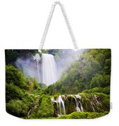 Marmore Waterfalls Italy Weekender Tote Bag
